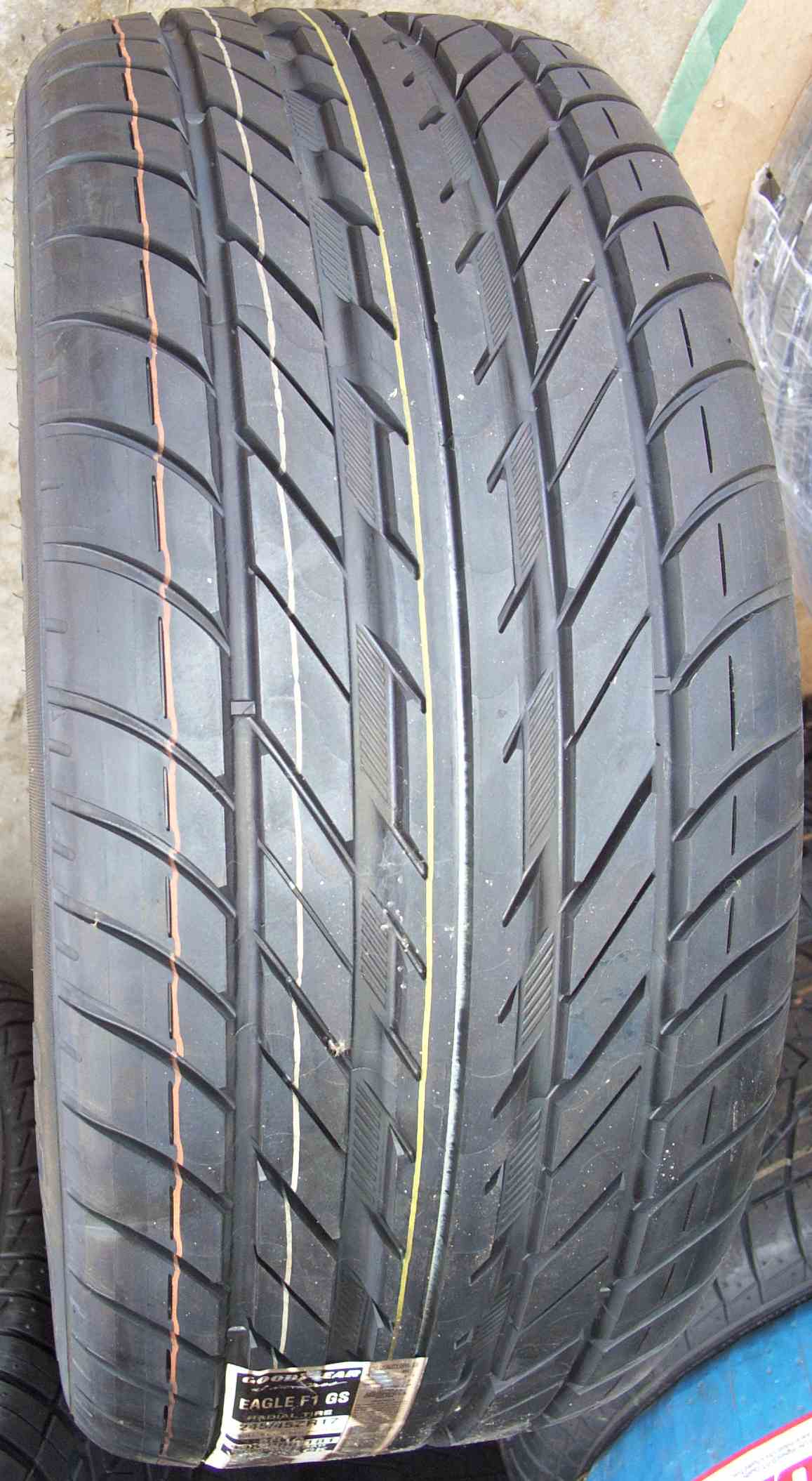 eagle goodyear p245 45zr17 performance tire tires campbell