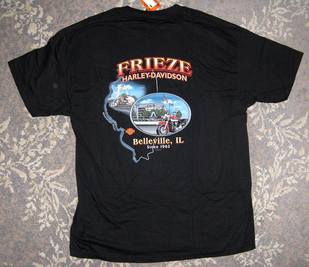 hd 28 frieze harley davidson t shirt for sale belleville