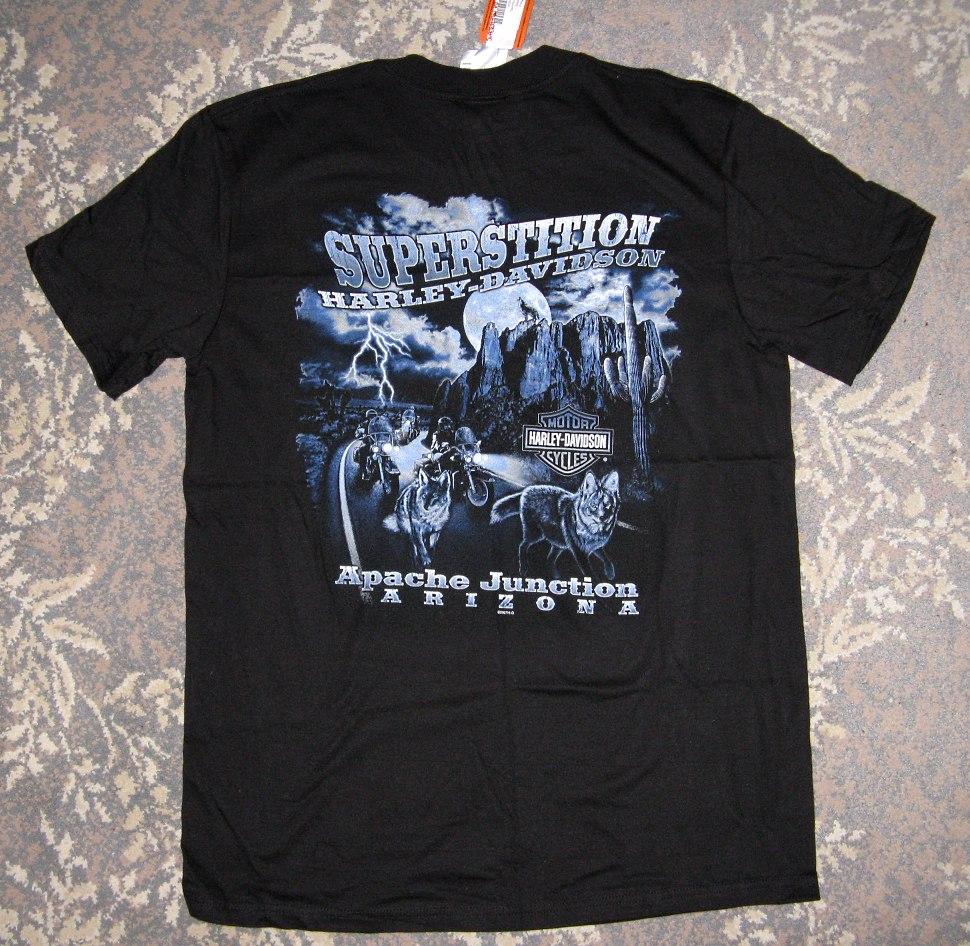 Campbell S Harley Davidson T Shirt
