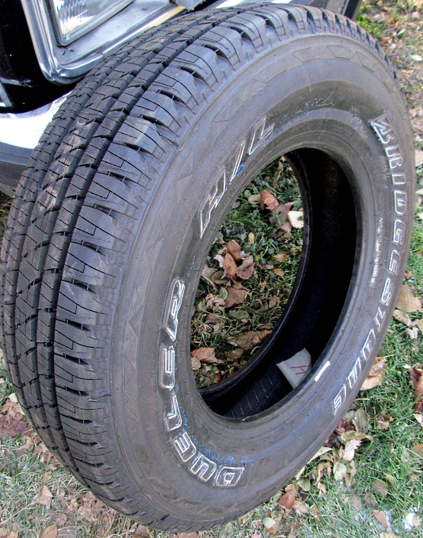 Dueler H L Alenza Plus >> Bridgestone Dueler Hl Alenza Tires P225 75r16 104t