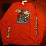 HD-16 Black Widow H-D Port Charlotte, Florida Red Santa/Holiday Long Sleeve Front